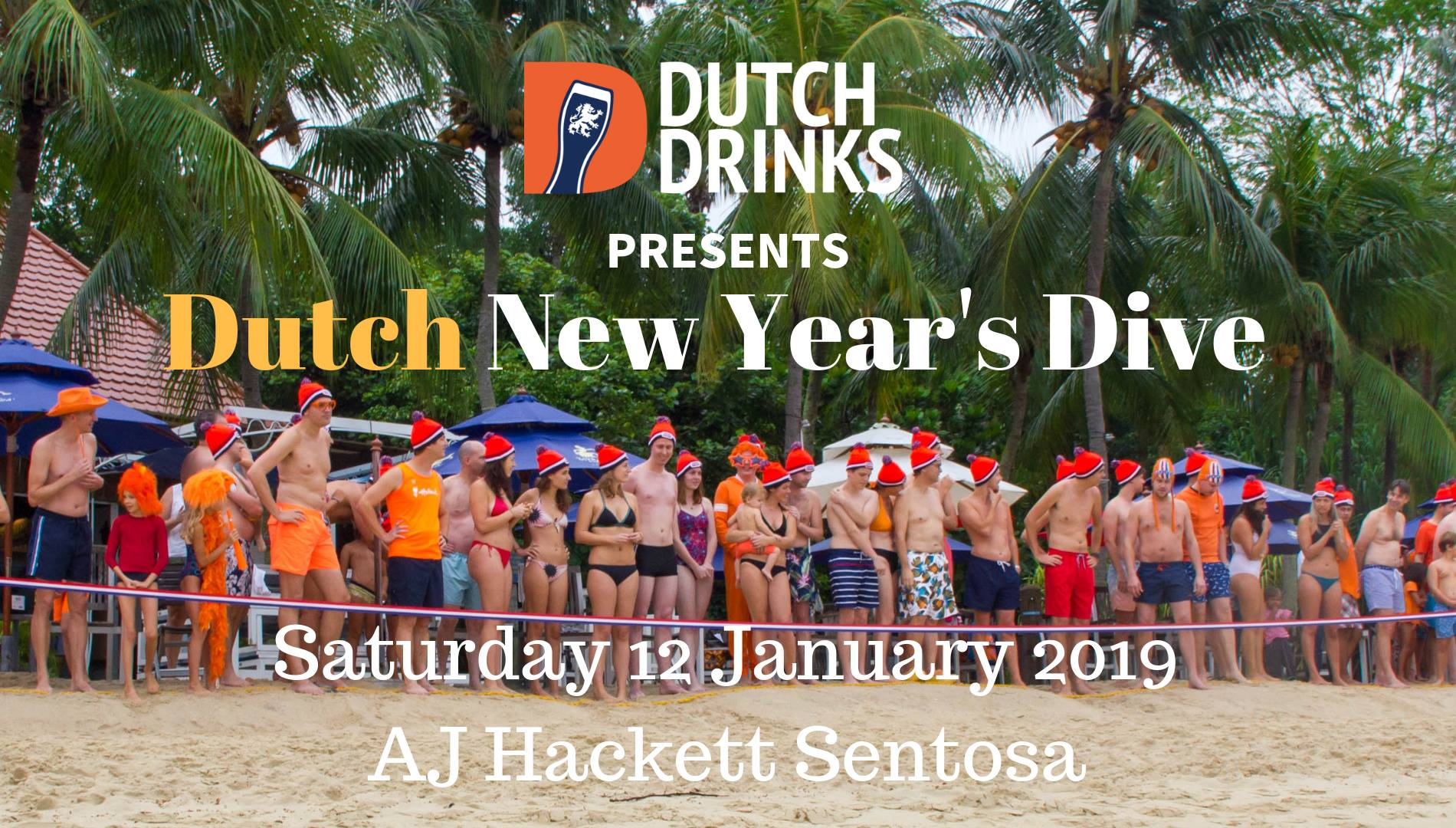 Dutch Drinks New Years' Dive