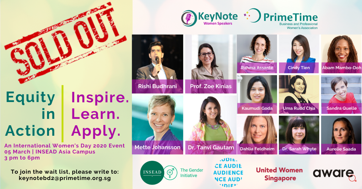 International Women's Day 2020 Singapore – SOLD OUT